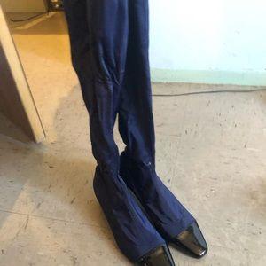 Shoes - Zara thigh high riding boots